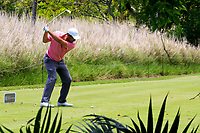 Ryan McCormick (RSA) in action during the second round of the Afrasia Bank Mauritius Open played at Heritage Golf Club, Domaine Bel Ombre, Mauritius. 01/12/2017.<br /> Picture: Golffile | Phil Inglis<br /> <br /> <br /> All photo usage must carry mandatory copyright credit (&copy; Golffile | Phil Inglis)