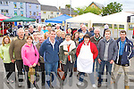 Traders and shoppers at the first day of the new Farmers Market at the Forge Castleisland on Thursday morning....