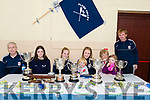 Flesk Valley Rowing Club members at the Kerry Coastal Rowing Exhibition in Glenbeigh on Sunday.<br /> L-R Denis O'Donoghue, Leah Burke, Edel Sweetman, Roisin Wall with Cuan Kelly, Mary Kelly with Carolina Kelly, Tadhg Kelly.