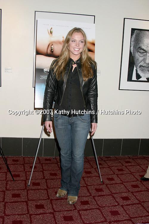 "Agnes Bruckner.""Blood & Chocolate"" Screening.Arclight Theater.Los Angeles, CA.January 25, 2007.©2007 Kathy Hutchins / Hutchins Photo."