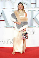 "Louise Thompson<br /> at the ""Fifty Shades Darker"" premiere, Odeon Leicester Square, London.<br /> <br /> <br /> ©Ash Knotek  D3223  09/02/2017"