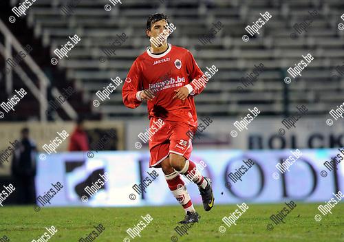 2010-12-11 / Voetbal / seizoen 2010-2011 / Antwerp FC - Tubeke / Yannick Put..Foto: Mpics
