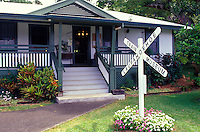 Laupahoehoe Train Museum, which also includes a sugar-era railway that was partly reconstructed after a tidal wave, on the Big Island's Hamakua coast