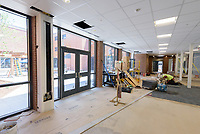 Major Renovation Litchfield Hall WCSU Danbury CT<br /> Connecticut State Project No: CF-RD-275<br /> Architect: OakPark Architects LLC  Contractor: Nosal Builders<br /> James R Anderson Photography New Haven CT photog.com<br /> Date of Photograph: 26 June 2017<br /> Camera View: 24 - Lounge 101
