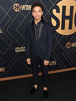 04 January 2020 - West Hollywood, California - Joshua Caleb. Showtime Golden Globe Nominees Celebration held at Sunset Tower Hotel. Photo Credit: Billy Bennight/AdMedia