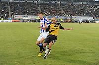 VOETBAL: SC HEERENVEEN: Abe Lenstra Stadion, 17-02-2012, SC-Heerenveen-NAC, Eredivisie, Eindstand 1-0, Viktor Elm, Anthony Lurling, ©foto: Martin de Jong.