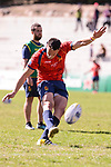 Spain's Brad Linklater during Rugby Europe Championship 2017 match between Spain and Belgium in Madrid. March 18, 2017. (ALTERPHOTOS/Borja B.Hojas)