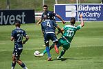 11.01.2019, Bidvest Stadion, Braampark, Johannesburg, RSA, FSP, SV Werder Bremen (GER) vs Bidvest Wits FC (ZA)<br /> <br /> im Bild / picture shows <br /> <br /> Yuvo foult Max Kruse (Werder Bremen #10) <br /> <br /> Foto © nordphoto / Kokenge