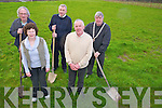 Sheila and Denis McCarthy, Coolcorcoran, Killarney, who are leasing some land to  Killarney UDC for allotments. Alos pictured are Cllr Michael Gleeson, David Doyle, town engineer and Killarney Mayor Cllr Sean Counihan...................