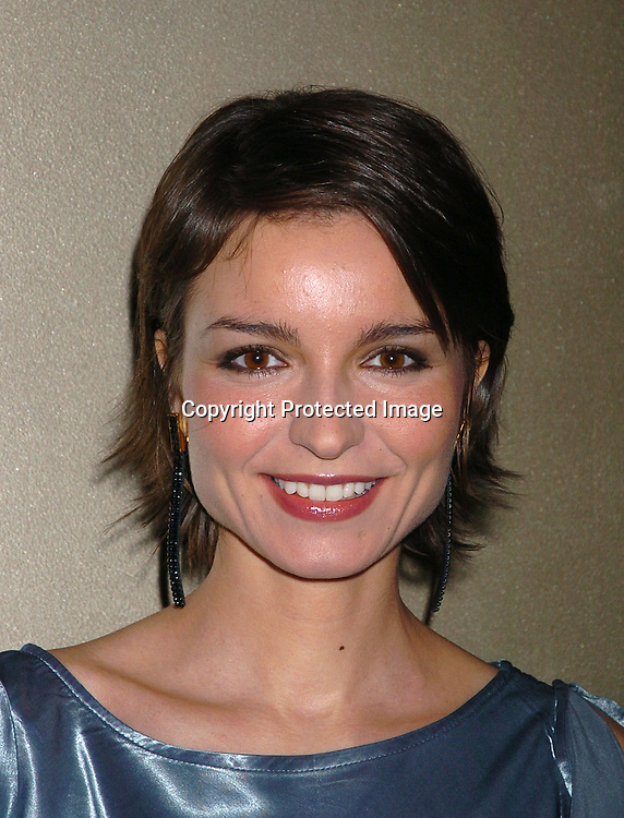 Olga Sosnovska..at the All My Children Christmas party at the Copacabana  on December 17, 2003. Photo by Robin Platzer, Twin Images.
