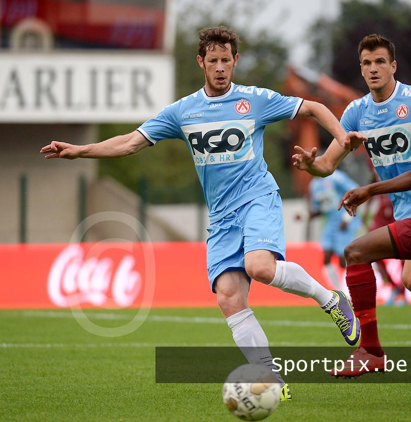KV Kortrijk  : Thomas Matton<br /> foto VDB / BART VANDENBROUCKE