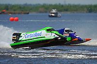 Rueben Stafford (#5) and Curtis Nunez' (#55)      (Formula 1/F1/Champ class)