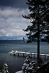 The west shore of Lake Tahoe, Calif., February 28, 2012..