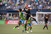 Seattle, Washington - Sunday, June 4, 2017: The Seattle Sounders FC defeat the Houston Dynamo 1-0 in a Major League Soccer (MLS) match at CenturyLink Field.