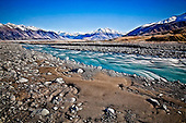 With the Southern Alps as a backdrop, the Potts River rapids rush headlong into the Rangitata River valley..This New Zealand Fine Art Landscape Print, available in four sizes on either archival Hahnemuhle Fine Art Pearl paper or canvas, is printed using Epson K3 Ultrachrome inks and comes with a lifetime guarantee against fading..All prints are signed and numbered on the lower margin and come with my 100% money back guarantee on the purchase price, should you not be  completely happy with the quality of the delivered print or canvas.