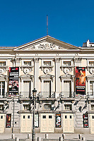 Teatro Espanol, Plaza Santa Ana, Madrid, Spain