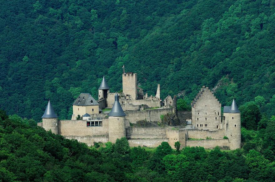 Bourscheid Castle, Ardennes, Luxembourg