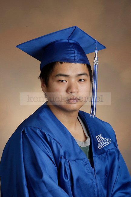 Zhu, Wei photographed during the Feb/Mar, 2013, Grad Salute in Lexington, Ky.
