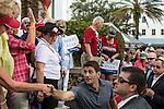Republican Vice Presidential candidate Paul Ryan (R-WI) shakes hands with audience members after a campaign rally on Saturday, August 18, 2012 in The Villages, FL.