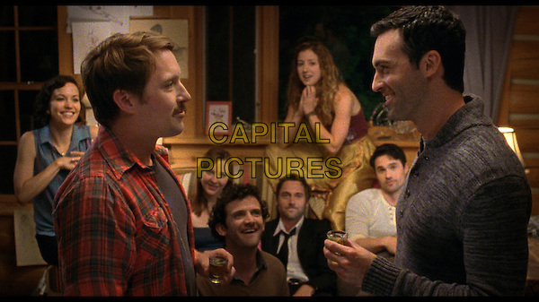 Ryan Eggold, Reid Scott, Beck Bennett, Will Brill, Brett Dalton, Erin Darke, Jessy Hodges and Britt Lower <br /> in Beside Still Waters (2013) <br /> *Filmstill - Editorial Use Only*<br /> CAP/NFS<br /> Image supplied by Capital Pictures