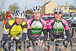 Tom Barrett Currow, John Mannix and Matt Slattery both Killarney who competed in the Johnny Drum Cup race in Currow on Sunday..