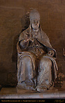 Monument to Pope Julius III, Fulvio Signorini 1609, Palazzo Chigi-Saracini entrance tunnel, Siena, Italy