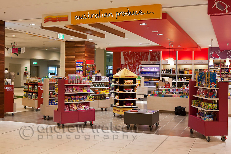 Australian Produce store at Cairns Domestic Airport, Cairns, Queensland, Australia