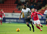 Anthony Grant of Peterborough United in action during the Sky Bet League 1 match between Charlton Athletic and Peterborough at The Valley, London, England on 28 November 2017. Photo by Vince  Mignott / PRiME Media Images.