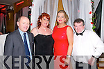 Valentines Dinner: Attending the Valentines sinner in aid of theDestination  Ballybunion at the Golf Hotel, Ballybunion oon Friday night last were John Walsh, Jacqueline Mannix, Martina Morgan Carr & David Walsh.
