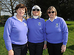 Mary Malone, Breda Clinton and Liz Halpenny pictured at the captain's drive in at ardee golf club. Photo: Colin Bell/pressphotos.ie