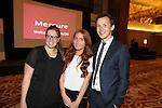 Mecure Holland House<br /> Calon Suite <br /> L-R: Mitzi Henderson, Toni Leigh Hall &amp; Matt Davies.<br /> 10.10.13<br /> <br /> &copy;Steve Pope-FOTOWALES