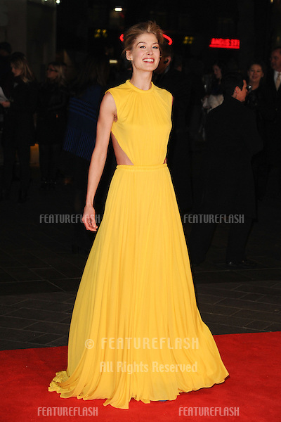 "Rosamund Pike arrives for the ""Jack Reacher"" premiere at the Odeon Leicester Square, London. 10/12/2012 Picture by: Steve Vas / Featureflash"