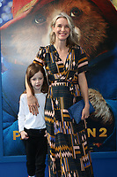 """LOS ANGELES - JAN 6:  Chaplin Haddow Brown, Ever Carradine at the """"Paddington 2"""" US Premiere at Village Theater on January 6, 2018 in Westwood, CA"""