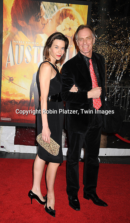 """Keith Carradine and guest..posing for photographers at The New York Movie Premiere of """"Australia"""" on November 24, 2008 at The Ziegfeld Theatre. ....Robin Platzer, Twin Images....212-935-0770"""