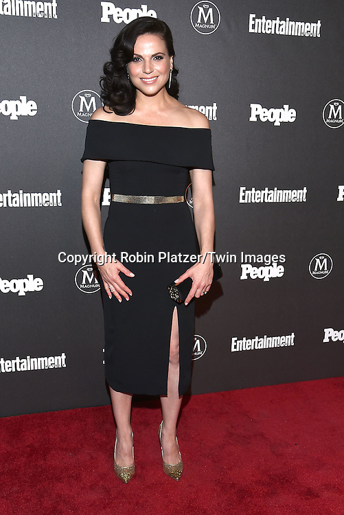 Lana Perilla attends the Entertainment Weekly &amp; PEOPLE Magazine New York Upfronts Celebration on May 16, 2016 at Cedar Lake in New York, New York, USA.<br /> <br /> photo by Robin Platzer/Twin Images<br />  <br /> phone number 212-935-0770