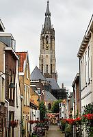 Delft- Straatje in de binnenstad.