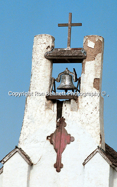 Church bell towner and cross, Fine Art Photography by Ron Bennett, Fine Art, Fine Art photography, Art Photography, Copyright RonBennettPhotography.com ©