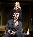 Flare Path by Terence Rattigan, directed by Trevor Nunn. With Sienna Miller as Patricia Warren [Mrs Graham], Harry Hadden-Paton as Flight Lieutenant Graham. Opens at The Apollo  Theatre  on 14/3/11 . CREDIT Geraint Lewis