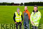 Brosna GAA - Liam Lane, Rural Social Scheme, Micheál Murphy, Brosnan Gaa secretary, and Jim Casey, Rural Social Scheme