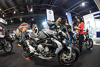 VALENCIA, SPAIN - NOVEMBER 7: MV Augusta during DOS RODES at Feria Valencia on November 7, 2015 in Valencia, Spain