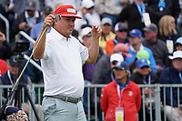 Jason Dufner (USA) during the final round of the US Open Championship, Pebble Beach Golf Links, Monterrey, Calafornia, USA. 16/06/2019.<br /> Picture Fran Caffrey / Golffile.ie<br /> <br /> All photo usage must carry mandatory copyright credit (© Golffile | Fran Caffrey)