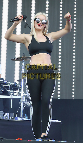 LONDON, ENGLAND - Clean Bandit performs at Wireless Festival Day Three at Finsbury Park, July 5th 2015 in London, England<br /> CAP/ROS<br /> &copy;ROS/Capital Pictures