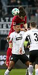 13.01.2018, Commerzbank - Arena, Frankfurt, GER, 1.FBL, Eintracht Frankfurt vs SC Freiburg<br /> , im Bild<br />&Ccedil;ağlar S&ouml;y&uuml;nc&uuml; (Freiburg), Sebastien Haller (Frankfurt)<br /> Foto &copy; nordphoto / Bratic