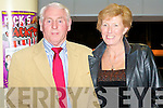 GREYHOUND FUN: Having great fun at the Kingdom Greyhound Stadium Night at the Dogs on Friday l-r: Pat O'Connell and Joan Scully.