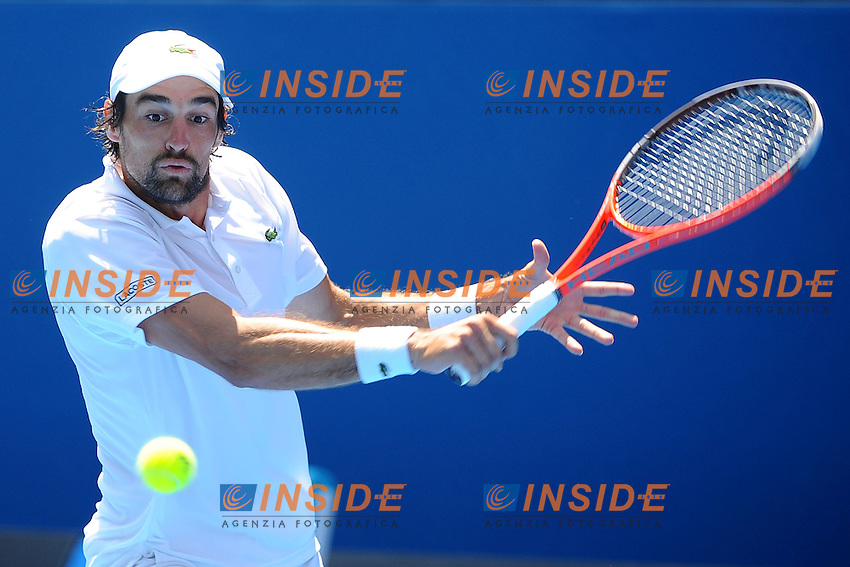 Jeremy Chardy (FRA) .Melbourne 21/1/2013.Tennis Australian Open.Foto Virginie Bouyer / Sportmag / Panoramic / Insidefoto.ITALY ONLY