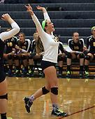 Farmington at Clarkston, varsity volleyball, 9/20/11