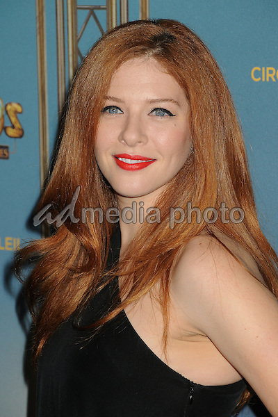 "9 December 2015 - Los Angeles, California - Rachelle Lefevre. Opening Night of ""Kurios"" from Cirque du Soleil held at Dodgers Stadium. Photo Credit: Byron Purvis/AdMedia"