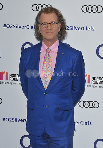 Andre Rieu at the Nordoff Robbins O2 Silver Clef Awards 2016, Grosvenor House Hotel, Park Lane, London, England, UK, on Friday 01 July 2016.<br /> CAP/CAN<br /> &copy;CAN/Capital Pictures /MediaPunch ***NORTH AND SOUTH AMERICAS ONLY***