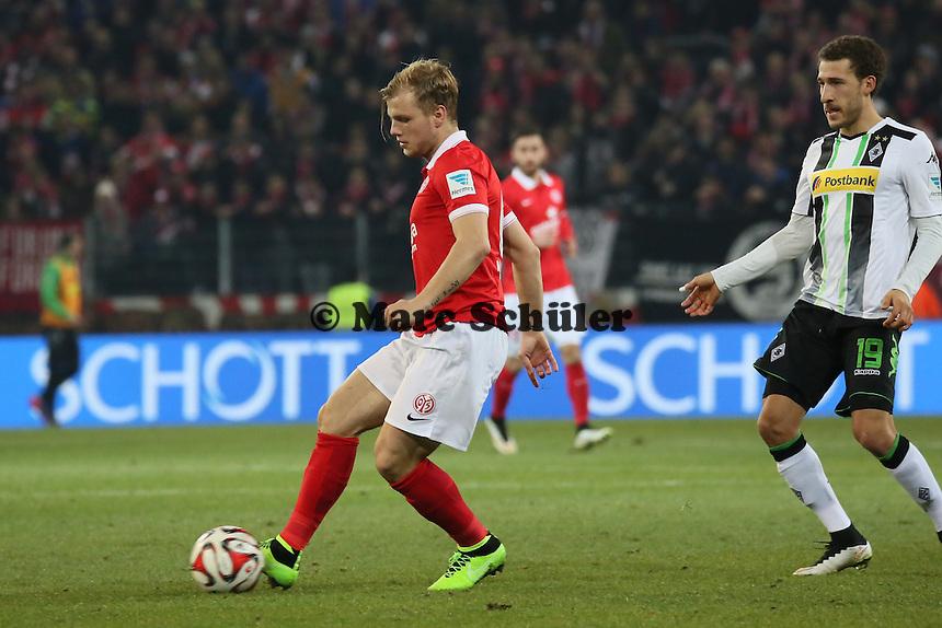 Johannes Geis (Mainz) - 1. FSV Mainz 05 vs. Borussia Moenchengladbach, Coface Arena