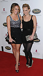 Haylie Duff and Hilary Duff arriving at the 5th Annual Runway For Life benefiting St. Jude Children's Research Hosptal, at the Beverly Hilton Hotel Beverly Hills, Ca. October 11, 2008. Fitzroy Barrett